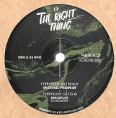 Michael Prophet - Everybody Get Ready / Disciples - Everybody Get Dub (4Weed Records) 12""